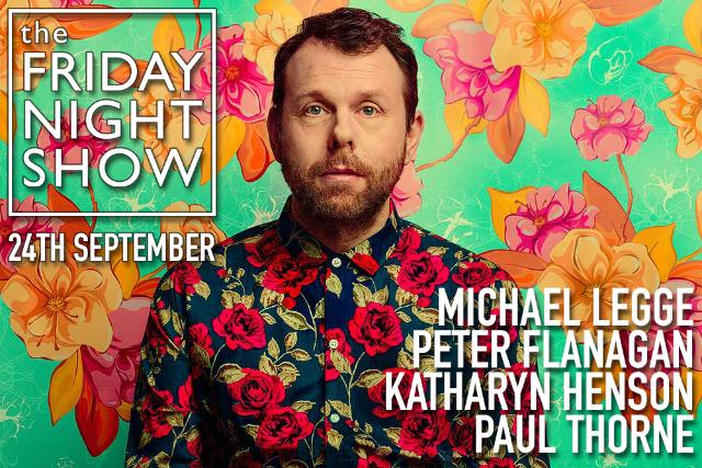 The Friday Night Show Fri 24 Sep