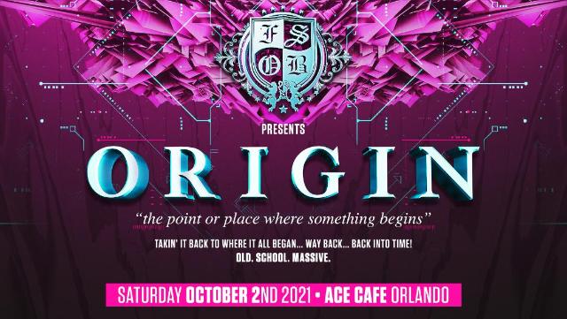 FSOB presents ORIGIN at Ace Cafe