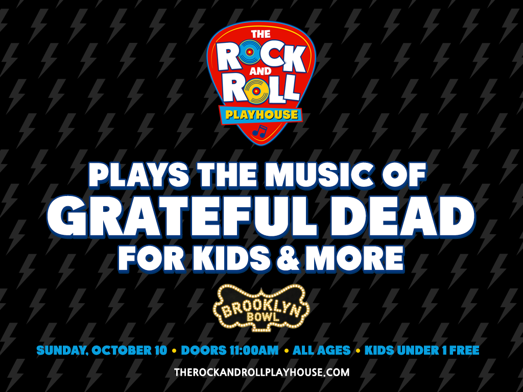 The Rock and Roll Playhouse plays Music of Grateful Dead for Kids and More