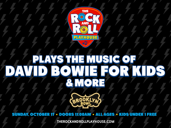 More Info for The Rock and Roll Playhouse plays Music of David Bowie for Kids + More