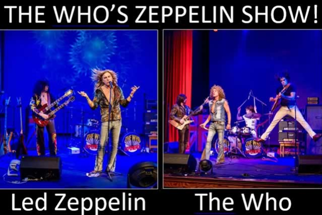 WHO'S ZEPPELIN - A Tribute to Led Zeppelin & The Who