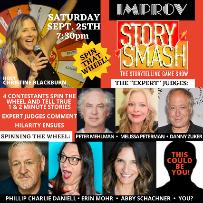 Story Smash: The Storytelling Game Show with Christine Blackburn ft. Danny Zuker, Melissa Peterman, Peter Mehlman, Abby Schachner, Phillip Charlie Daniell, Erin Mohr!