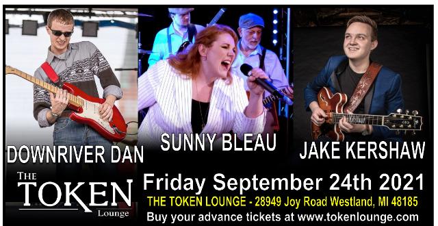 Jake Kershaw, Sunny Bleau, Downriver Dan at The Token Lounge