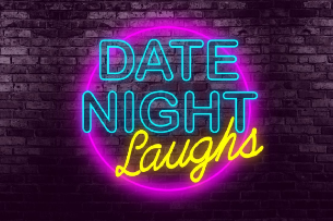 Date Night Laughs with Mike Wysocki, featuring Shannon Norman, Aaron Kleiber, and Amanda Averell with host Aarik Nesby.