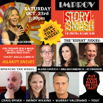Story Smash: The Storytelling Game Show with Christine Blackburn & more TBA!