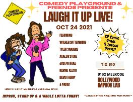 Comedy Playground & Friends! Hosts: Susanna Spies & Katey Mushlin ft. Walker Satterwhite, Tyler Sanders, Kidane Kelati, Avalon Stone, Joseph Haag, David Hardy & more!