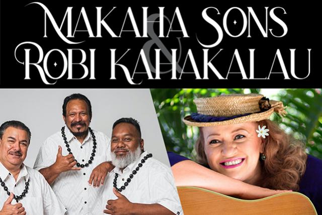 Makaha Sons with Robi Kahakalau at Blue Note Hawaii