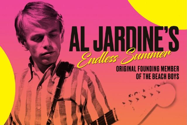 Al Jardine of THE BEACH BOYS (founding member)