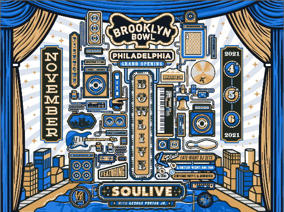 More Info for Bowlive featuring Soulive with George Porter Jr.