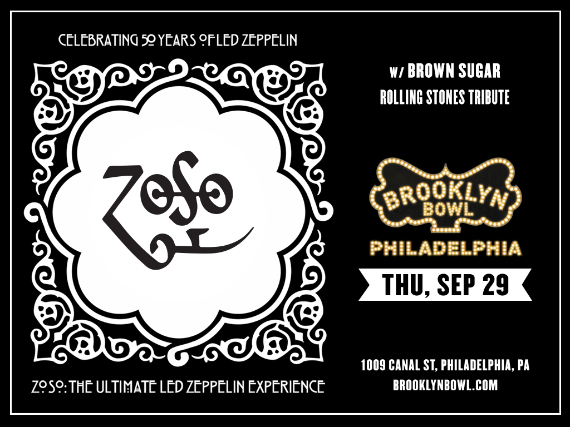 More Info for Zoso - The Ultimate Led Zeppelin Experience
