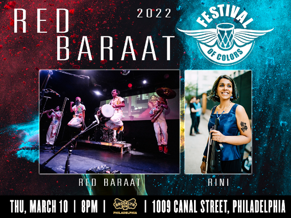 More Info for Red Baraat Festival of Colors