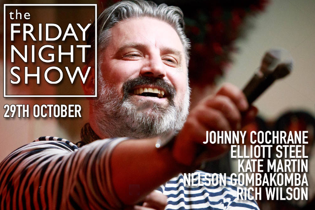 The Friday Night Show Fri 29 Oct