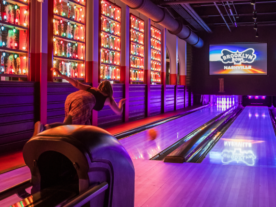 More Info for The Record Company Bowling Lane for up to 8 People