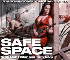 Safe Space with Rory Scovel, Erica Rhodes, Jackie Kashian, Ahmed Bharoocha, Aidan Park, & more!