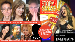 Story Smash: The Storytelling Game Show with Christine Blackburn