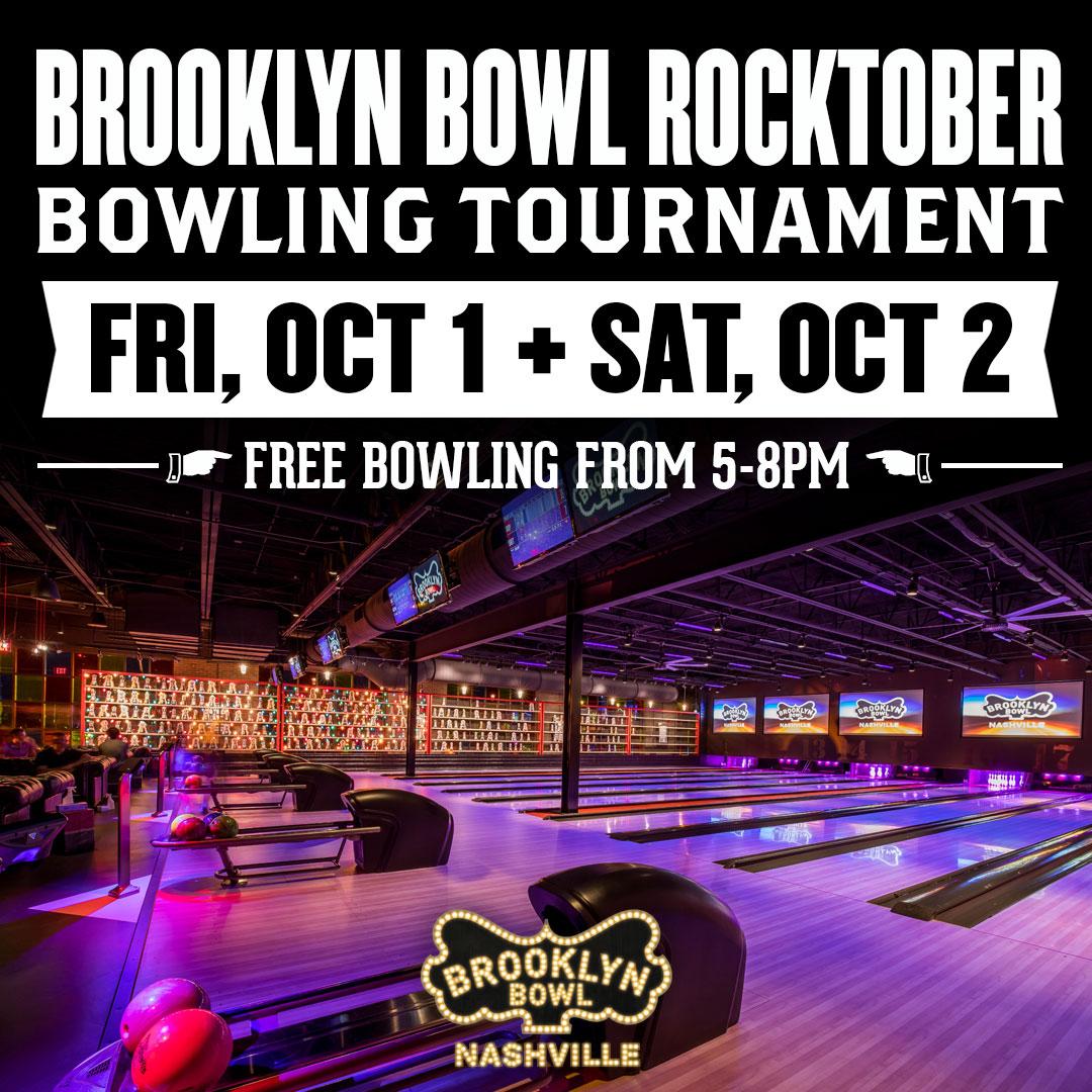 Brooklyn Bowl Rocktober Bowling Tournament
