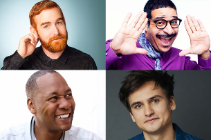 Mark Curry, Andrew Santino, Moses Storm, Brent Morin, Erik Griffin, Moses Storm, Bobby Slayton, Jackie Gold, and more!