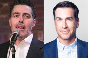 Adam Carolla New Show Taping with Rob Riggle