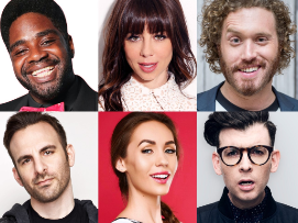 Moshe Kasher, TJ Miller, Ron Funches, Brian Monarch and Violet Jones!