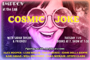 COSMIC JOKE with Sarah Taylor!