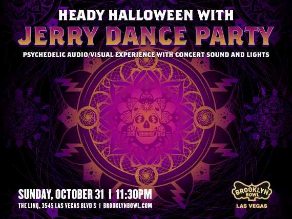 More Info for Heady Halloween with Jerry Dance Party