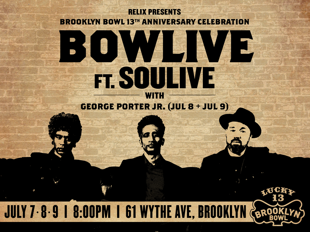 Soulive - 3 Night Pass