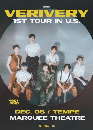 VERIVERY at Marquee Theatre