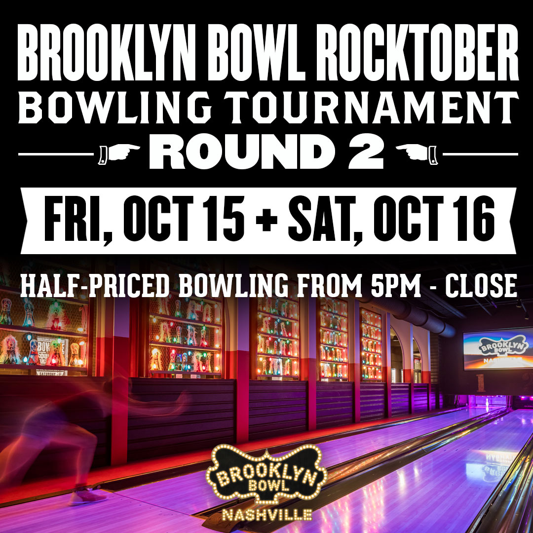 Brooklyn Bowl Rocktober Bowling Tournament - Back to Brooklyn Indie Night!