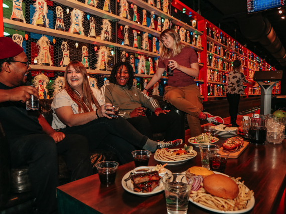 More Info for Girl in Red Bowling Lane for up to 8 People