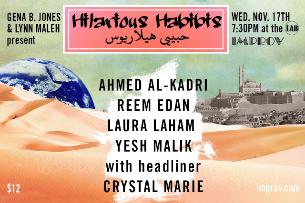 Hilarious Habibis with Lynn Maleh and Gena B. Jones