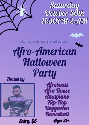 Afro-American Halloween Party at Neurolux Lounge