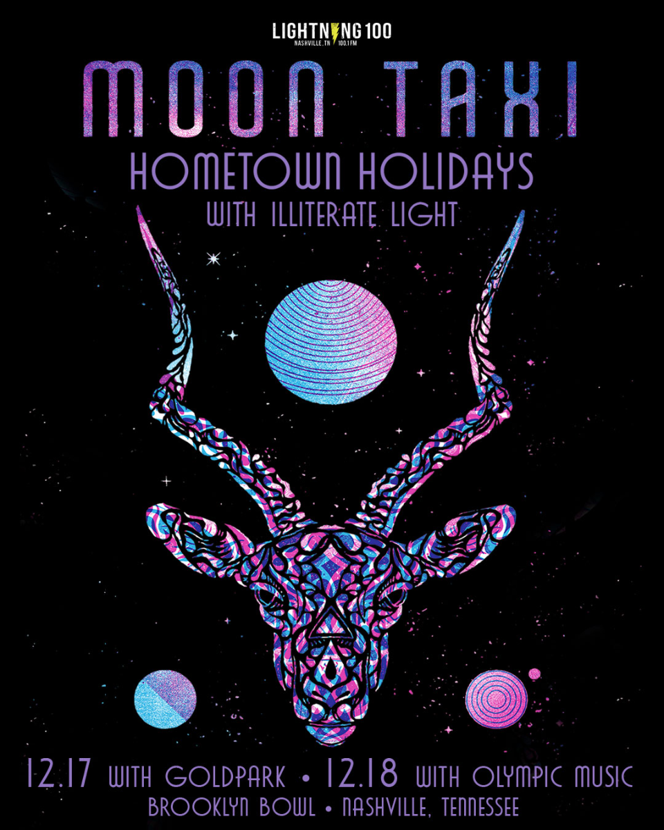 Moon Taxi - Hometown Holidays - 2 Day Pass