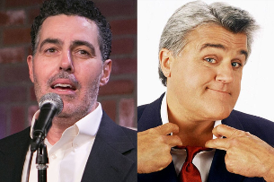 Adam Carolla New Show Taping with Jay Leno