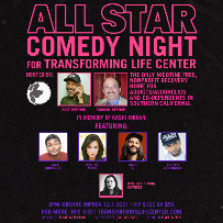 Maz & Friends Charity Night: All Star Comedy Night for Transforming Life Center