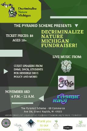 Decriminalize Nature Michigan Fundraiser