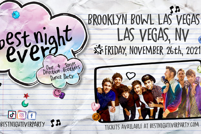More Info for Best Night Ever - One Direction + Jonas Brothers Dance Party