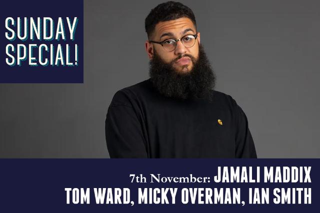 Sunday Special: Jamali Maddix, Tom Ward, Micky Overman, Ian Smith Sun 07 Nov