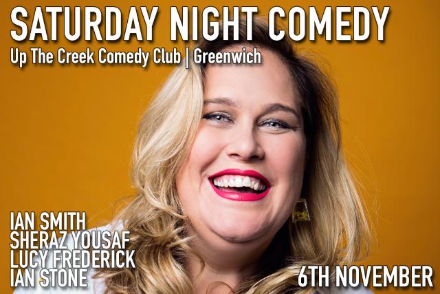 Saturday Night Comedy Sat 06 Nov
